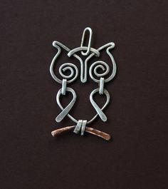 Little Owl | Silver owl on a copper branch. | Tatiana Kuzmicheva | Flickr