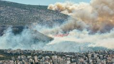 7/17  Greece forest fires threaten homes in Athens and in south