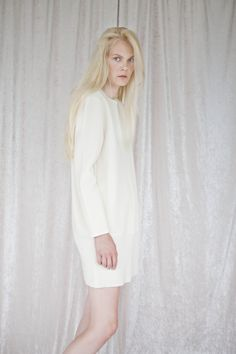 Norwegian Clothing Brands, Ss 17, Cabin Fever, Runway, High Neck Dress, Dresses With Sleeves, Long Sleeve, Model, Clothes