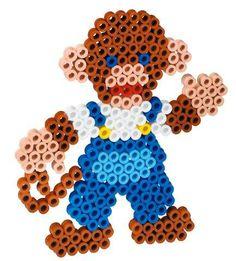 Scimmietta con perline Maxi