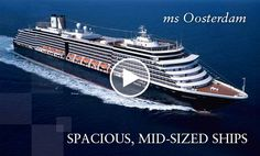 Cruises on ms Oosterdam, a Holland America Line cruise ship
