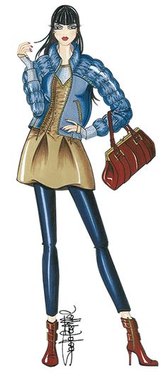 Bases para diseñar una colección de modas | http://fashionandillustration.com/ | Fashion illustration by Paola Castillo | ♦F&I♦