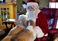 Santa hears from his boys.