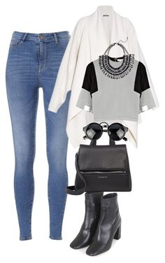 """""""Untitled #47"""" by heartrobynfenty on Polyvore featuring Topshop, Alexander McQueen, D'Albert and Givenchy"""