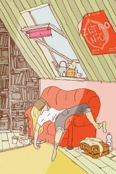 we've all been there: the morning after a night of binge reading
