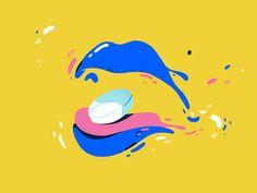 Lipsss by Loris F. Alessandria - Dribbble