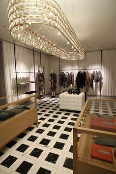 Inside the Valentino Fifth Avenue flagship. [Photo by Thomas Iannaccone]