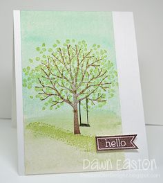 Hello by TreasureOiler - Cards and Paper Crafts at Splitcoaststampers