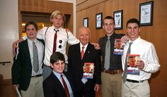 Entrepreneur and former presidential candidate H. Ross Perot, Sr. spoke to students about leadership. (April 2011)