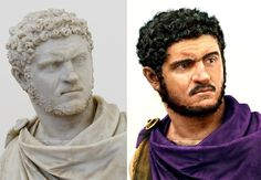 Reconstruction of Emperor Caracalla