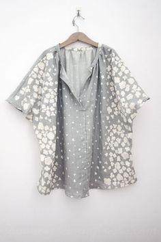 nani IRO pocho smock – completed » Japanese Sewing, Pattern, Craft Books and Fabrics
