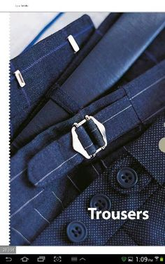 """AlistairAscot """"An Appointment with Luxury"""" (R) Trousers"""