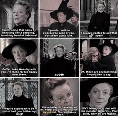 Minerva McGonagall - Happy 83rd birthday Maggie Smith! December 28th