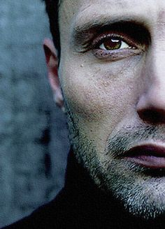 Mads Mikkelsen ..: intense :..those cheekbones..those lips..those eyes ...swoon