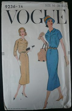 Want one of these in linen Vintage Sewing Patterns, Sewing Ideas, Shirt Dress, Retro, Shirts, Dresses, Handmade, Food, Fashion