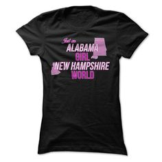 Just an Alabama Girl in a New Hampshire World*** - #adidas sweatshirt #sweatshirt blanket. MORE INFO => https://www.sunfrog.com/States/Just-an-Alabama-Girl-in-a-New-Hampshire-World.html?68278