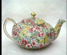 "Lord Nelson's ""Briar Rose"" chintz"