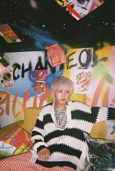 Sehun, Foto Chanyeol Exo, Chanyeol Cute, Exo Exo, K Pop, Exo Album, Exo Lockscreen, Kpop Posters, Exo Members