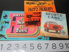 Britains Super Toys Sports Cars Book One Orbit Books Tad Burness Auto Album Book