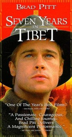 Directed by Jean-Jacques Annaud. With Brad Pitt, David Thewlis, BD Wong, Mako. True story of Heinrich Harrer, an Austrian mountain climber who became friends with the Dalai Lama at the time of China& takeover of Tibet. Cinema Film, Cinema Posters, Movie Posters, New Movies Coming Out, Great Movies, Series Movies, Film Movie, Tv Series, Best Brad Pitt Movies