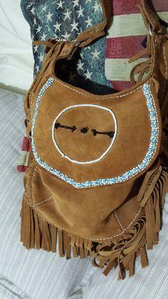 Apache Protection symbol  charm bag