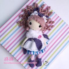 ♡ Lovely amigurumi crochet doll. (Inspiration).
