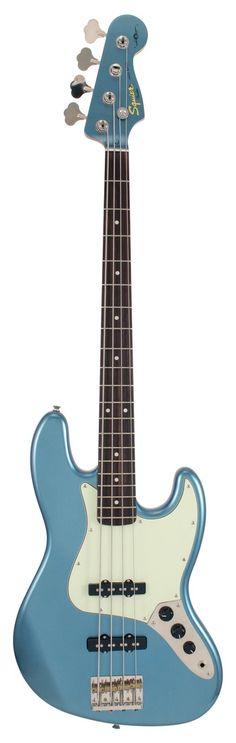 Fender Squier James Johnston Electric Bass Guitar