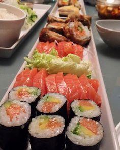 """koraysweater: """" Friday is Sushiday. """" sushi aesthetic"""