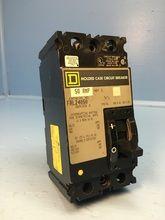 Square D FAL24050 50A Circuit Breaker 480V Type FAL S2 2P FAL-24050 SqD 50 Amp