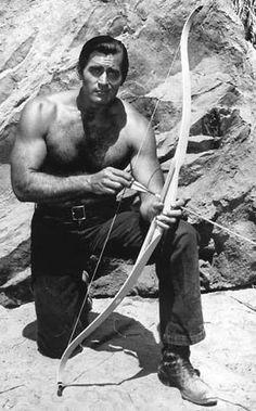 Clint Walker in Cheyenne Cheyenne Tv Show, Cheyenne Bodie, Classic Movie Stars, Classic Tv, Tarzan, Classic Hollywood, Old Hollywood, Hollywood Stars, Clint Walker Actor