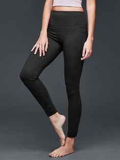 GapFit Blackout Technology Barre gFast leggings