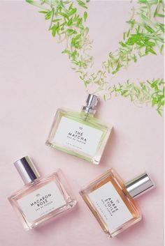 Prop Styling * Product Styling * Gourmand EDP Fragrance * Green Flower Petals * Prop Stylist: Josephine Castellano JosCast.com * Photographer: Alison Luntz