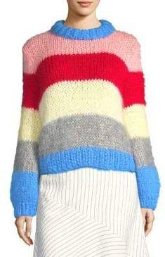 Ganni Julliard Stripe Sweater
