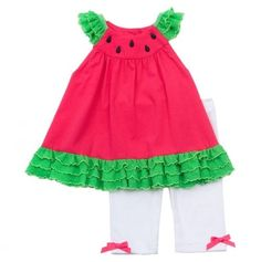 OMG I WOULD SO DRESSB MY BABY GIRL IN THIS..... I LOVE WATERMELON