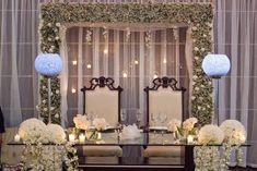 Mesa de novios #Wedding #decoration