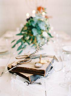 Vintage decor: http://www.stylemepretty.com/little-black-book-blog/2015/05/11/vintage-elegant-swedish-wedding-inspiration/   Photography: 2 Brides - http://2brides.se/