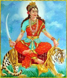 Durga maa-ambaji-gabar-vagheswari-shiheswari-durga-matagi-goddess-dus maha vidhiya