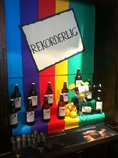 Twitter / artistjoolz: @Rekorderlig Cider Cider display for the ...