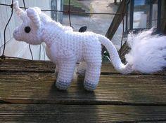 Crochet white unicorns choice or set of unicorn toys unicorn