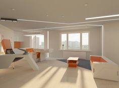 Future Home, Futuristic Room, Boxetti, Rolands Landsbergs, Futuristic Interior, Modular Home Interior