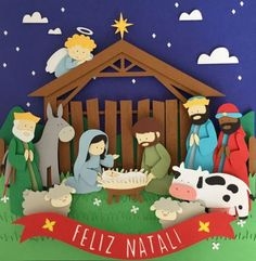 School Christmas Party, Christmas Crafts For Kids, Xmas Crafts, Diy And Crafts, Christmas Cards, Christmas Decorations, Christmas Bulletin Boards, Christian Crafts, Christmas Nativity Scene