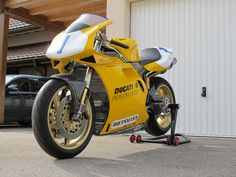Ducati 748 Racing - 1996 Supersport European championship
