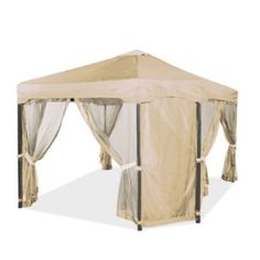 Replacement for Home Depot Pacific Casual 12 x 12 Doorway Gazebo by Garden Winds. $129.99. Garden Winds recommends that you purchase this canopy only if you have this particular gazebo. This canopy will not fit any other gazebo!. This replacement canopy is custom designed for the Home Depot Pacific Casual 12 x 12 gazebo, model number 5LGZ5677 (Store SKU 840249).. THIS REPLACEMENT CANOPY IS BEIGE IN COLOR, AND NOT THE SAME COLOR AS YOUR ORIGINAL CANOPY.. This rep...