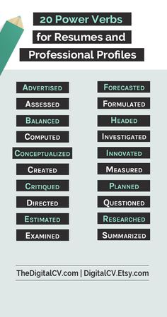 Keywords For Resume Jobseeker Resume Action Verbs And Keywords Starting With M