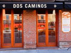 Meatpacking District i New York - Dos Caminos