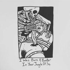 "14.3 mil Me gusta, 63 comentarios - Matt Bailey (@baileyillustration) en Instagram: ""I Was Born A Hunter In Your Jungle Of Sin."""