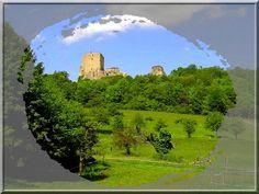 """Posée sur une colline proche de la Suisse, la puissante forteresse de Landskron regarde avec plaisir de calme des vallées. """"Enfin"""" se dit elle, """"les hommes sont en paix""""... Car durant 7 siècles, elle a été l'objet de batailles et de combats."""