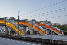 Fußgängerbrücke in Schweden - Metro Arkitekter