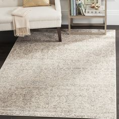 Safavieh Vintage Ivory/ Grey Rug (8' x 11') | Overstock.com Shopping - The Best Deals on 7x9 - 10x14 Rugs