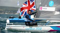 'Sir Ben' is king of the waves: Ainslie wins fourth gold to become best ever Olympic sailor Team Gb 2012, London Olympic Games, British Sports, Olympics, Sailor, Athlete, Boats, Waves, King